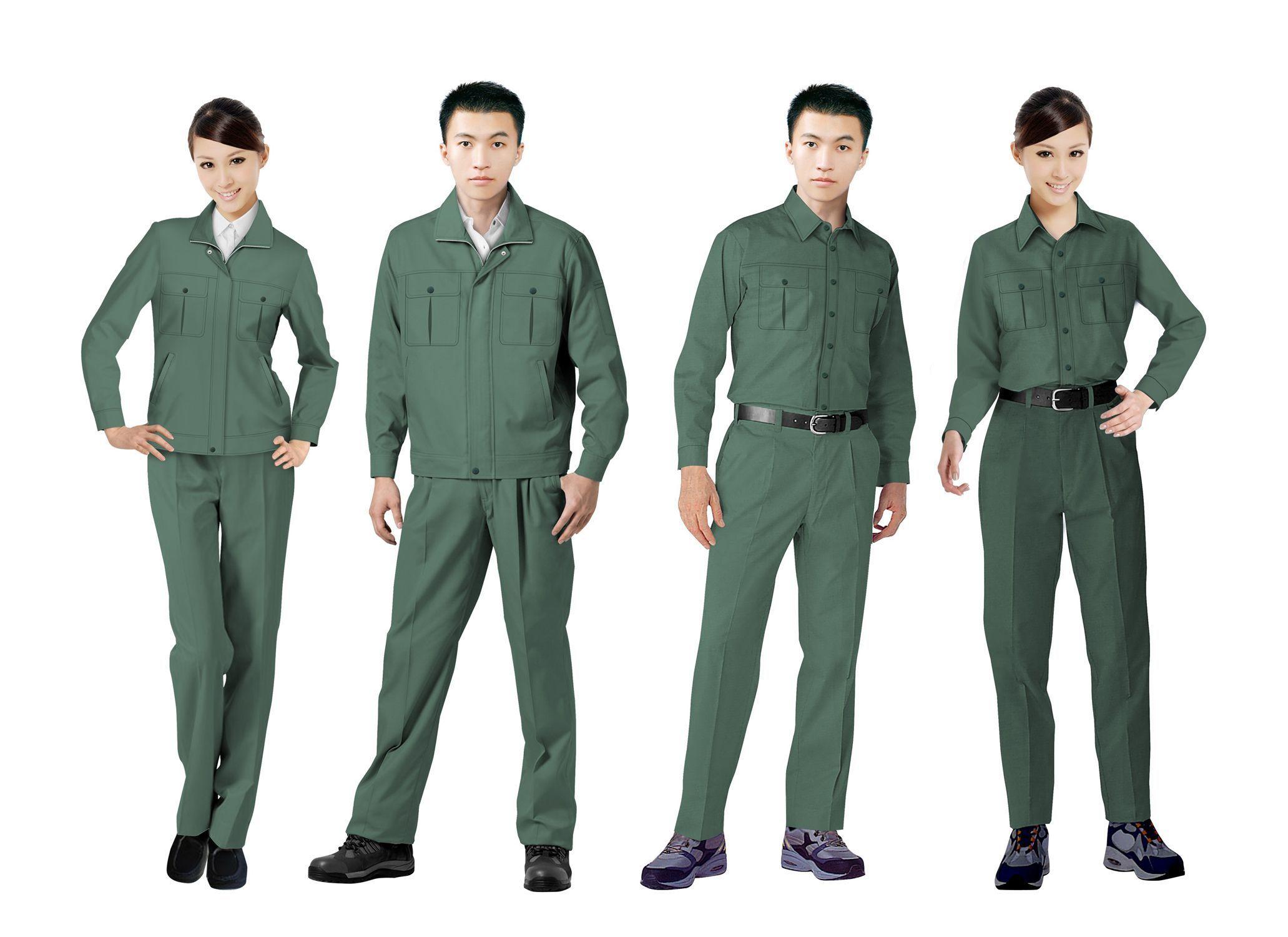 工作服设计图系列方案04