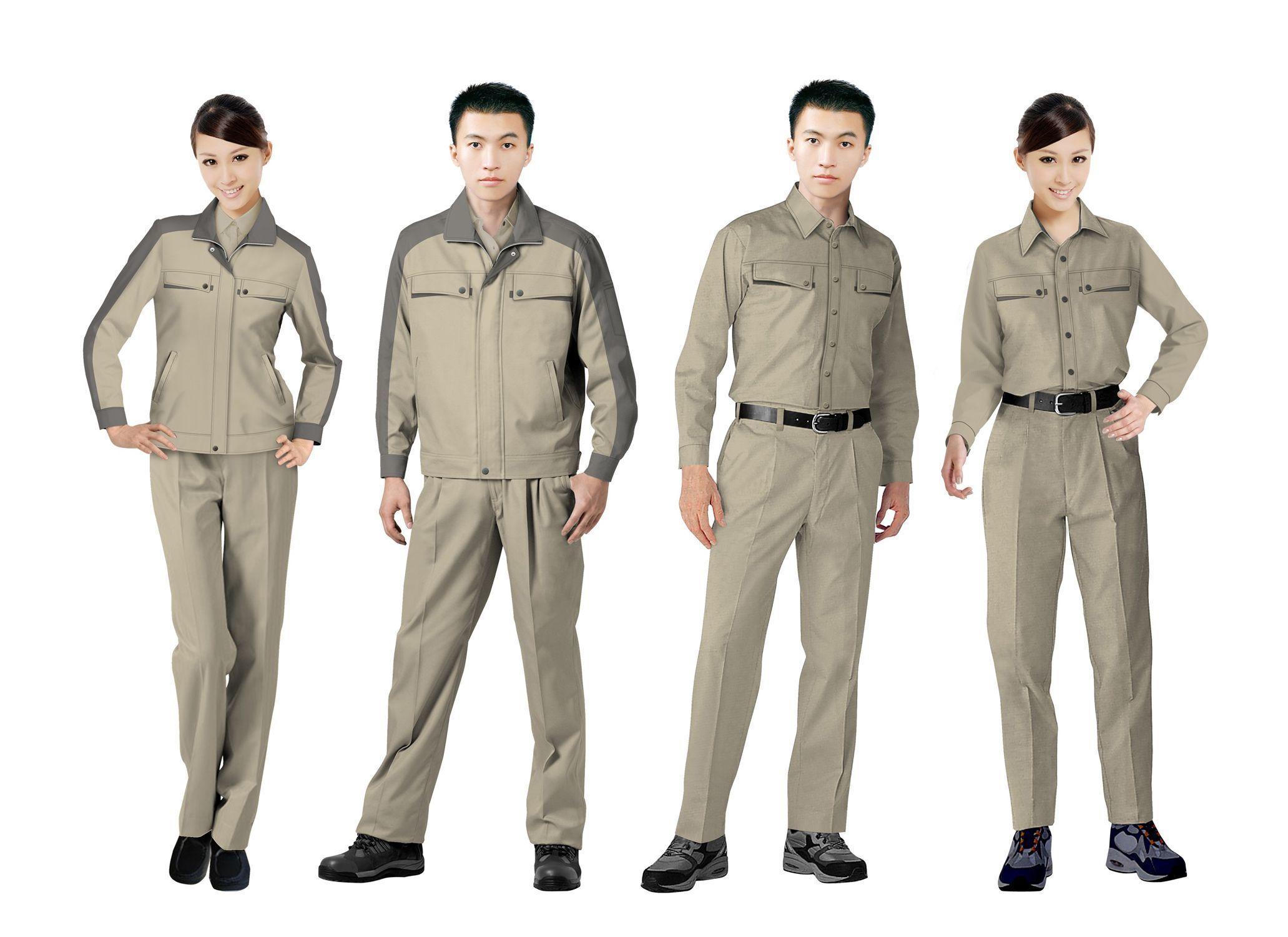 工作服设计图系列方案05