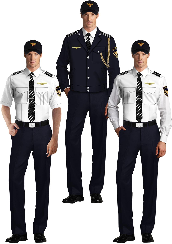 保安制服系列设计方案01